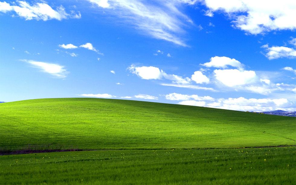 Историята зад емблематичната снимка на Windows XP