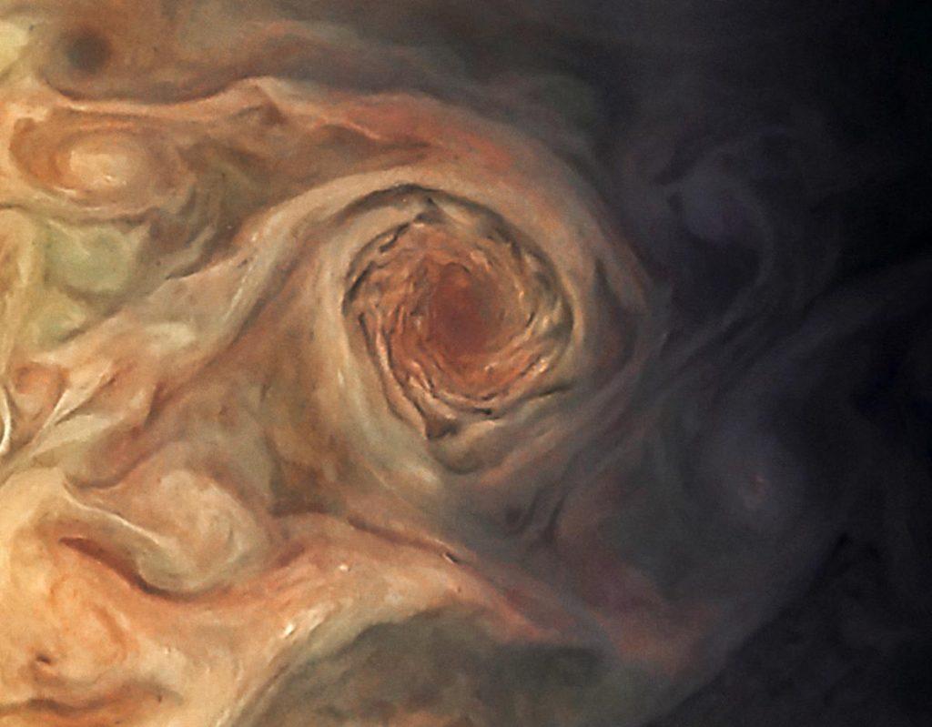 Jupiter Swirling Pearl Storm