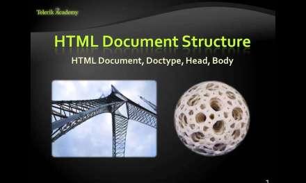 Основи на езика HTML